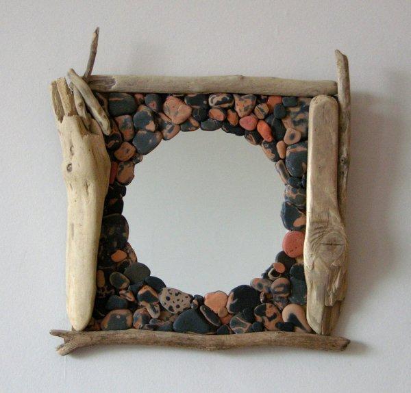 miroirs en bois flott les bois flott s de sophie. Black Bedroom Furniture Sets. Home Design Ideas