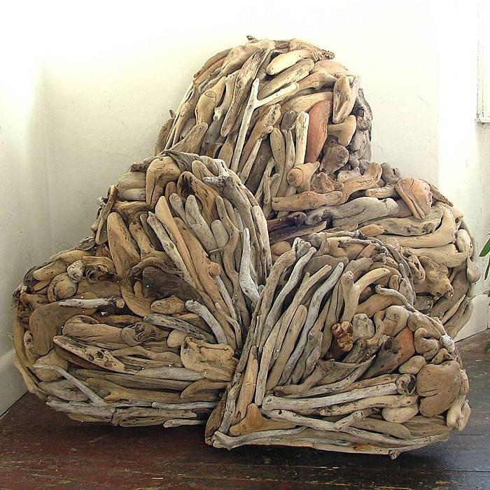 coeurs en bois flott les bois flott s de sophie. Black Bedroom Furniture Sets. Home Design Ideas