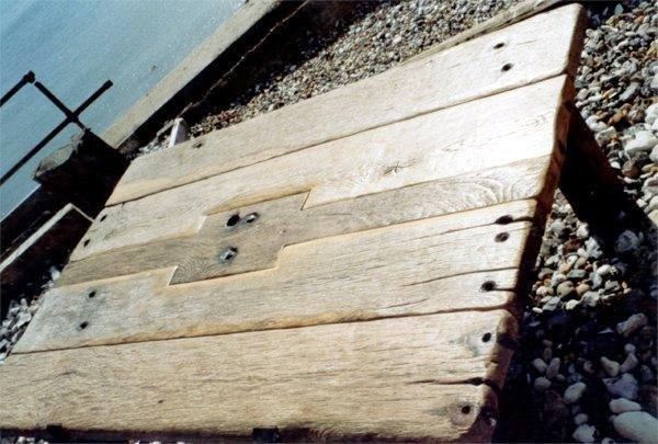 Tabourets en bois flott les bois flott s de sophie for Les bois flottes